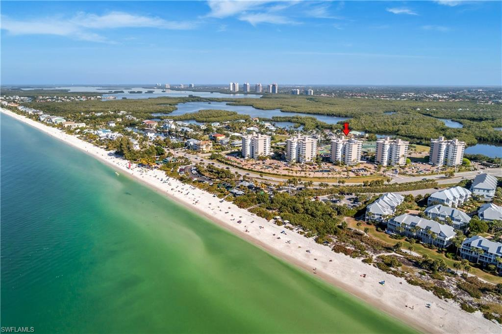 Beautifully furnished condo located on 15 acres across the street from the beach! With 2 pools, tennis, bocci, shuffleboard, and more, there are plenty of amenities. Onsite restaurant and beauty salon. Boat slips for rent when available. Perfect location not far from shops, restaurants, and a short drive from RSW airport. Great property to own or rent.