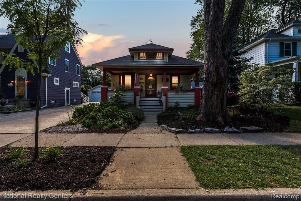This modern farmhouse style home in downtown Plymouth was built in 1922 and has been very well maintained. A charming updated home with covered front porch, rear deck, new landscaping (100 yards of soil) with no chemicals ever used, Pollinator garden, Xeriscape (minimal irrigation required) and dog run all on a quiet street.  Seller has invested in a driveway, garage roof, insulated garage door, deck. front porch support and new stairs, fenced in yard (custom cedar and 6 foot chain link), appliances, refinished wood floors, carpet, paint, LED lighting, electrical system, Wallside Windows (transferable warranty), cabinetry in kitchen (all with sliders) and a double pantry.  As far as appliances, newer double oven, gas stove, range hood, dishwasher as fridge...all stainless.  Bathrooms have been updated. Immediate occupancy.