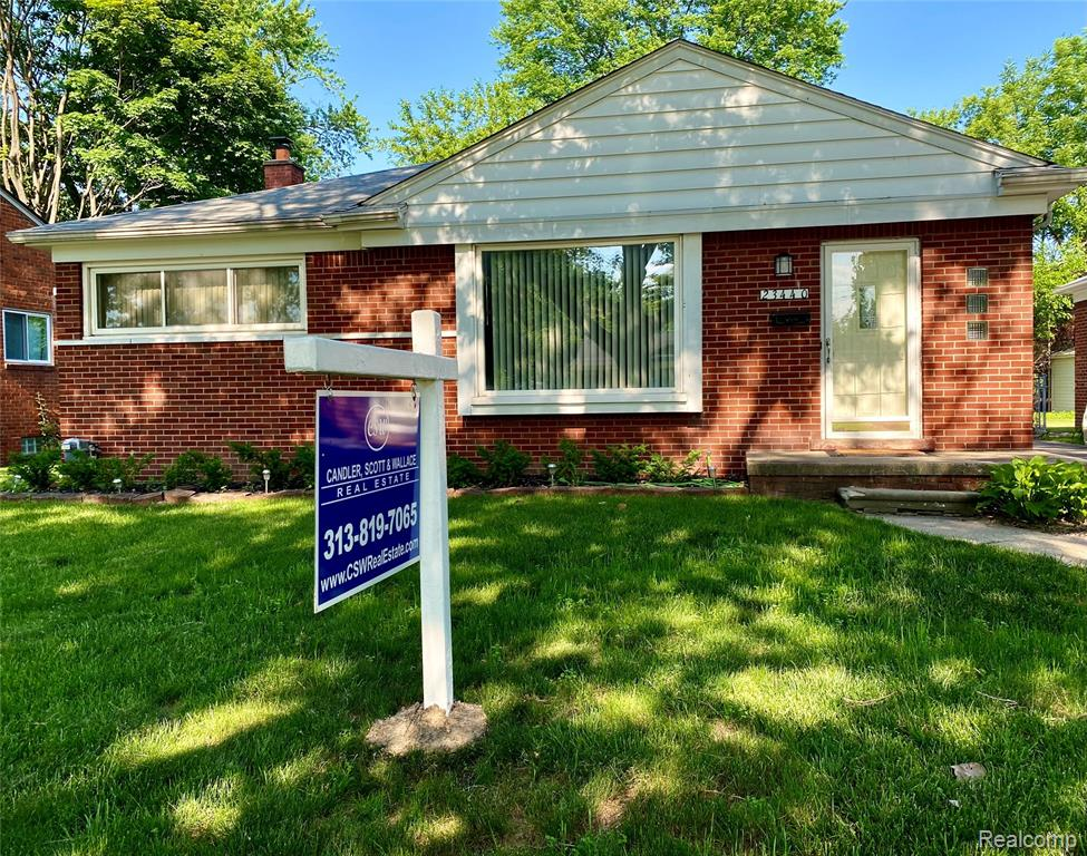 STUNNING 4 BEDROOM (1 BEDROOM IN BASEMENT), 1 BATH BRICK RANCH. A WALK AWAY FROM FRANCIS SCOTT KEY ELEMENTARY SCHOOL. LIVING ROOM WITH LARGE BAY WINDOW GIVES YOU A BEAUTIFUL VIEW OF THE NEIGHBORHOOD. OPEN FLOOR PLAN ADORNED BY NEWER WINDOWS AND HARDWOOD FLOORS THROUGHOUT HOME. FINISHED BASEMENT WITH LARGE RECREATION ROOM OFFERS SPACE FOR A 4TH BEDROOM, OFFICE SPACE AND OR A COMFORTABLE GET AWAY.  HOME IS BEING SOLD AS-IS. SELLER IS OFFERING HOME WARRANTY AND CLOSING COSTS ASSISTANCE WITH ACCEPTED OFFER. APPRAISALS IN AREA RANGE THOUSANDS OF DOLLARS HIGHER.