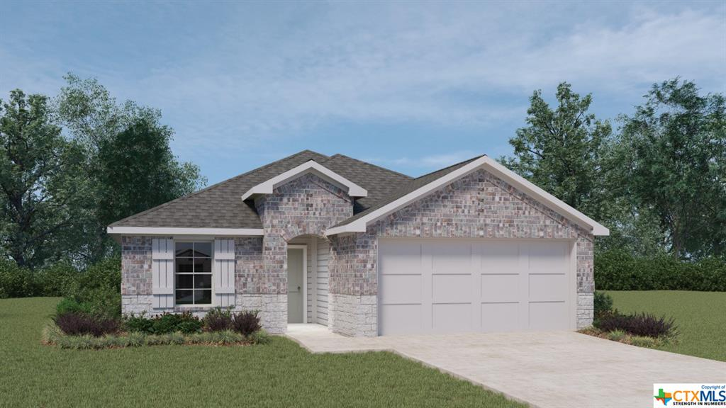 The builder will be accepting offers between Saturday July 31- Sunday August 1 on this property. All offers to purchase requested by 3:00pm Sunday. We anticipate receiving multiple offers & are advising customers to put forth their highest & best offer for consideration.  See Supplement for how to submit an offer. We are scheduling appointments through Friday. We are not accepting investor purchases at this time. The Dalton is a thoughtfully designed 1,544 sq. ft. 4 bedroom, 2 bath home perfect for any family.  This beautiful home features a spacious kitchen with an abundance of cabinet space.  The kitchen also features Granite countertops, a large kitchen island and black appliances.  The kitchen overlooks the dining area and large family room.  Enjoy the open space perfect for entertaining.  The main bedroom, bedroom 1, is located off the large family room and includes a huge walk in closet.  The Dalton also offers a large covered patio with full yard irrigation and sod