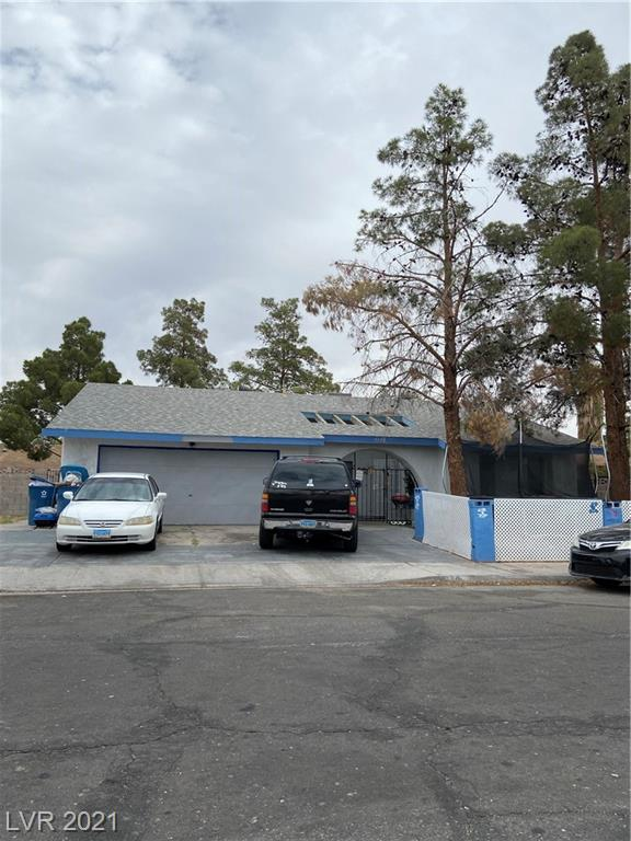 4 Bedroom & 2 bath plus other additions made not in square footage**  Located minutes away form the Las Vegas Strip** 1 OF 3 properties being sold by Seller in same neighborhood. Large lot with lots of opportunity