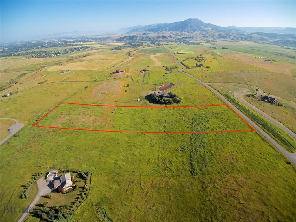 Terrific opportunity to build your dream home in a prime Bozeman location! Fantastic, 360 degree views on just over 10 acres and is only minutes to downtown Bozeman, the hospital and Montana State University. A gently rolling landscape gives you options where to build your home. The adjoining 10 acre parcel to the south is also available and can be sold together for 20+ total acres. See MLS# 331760.  Call today!