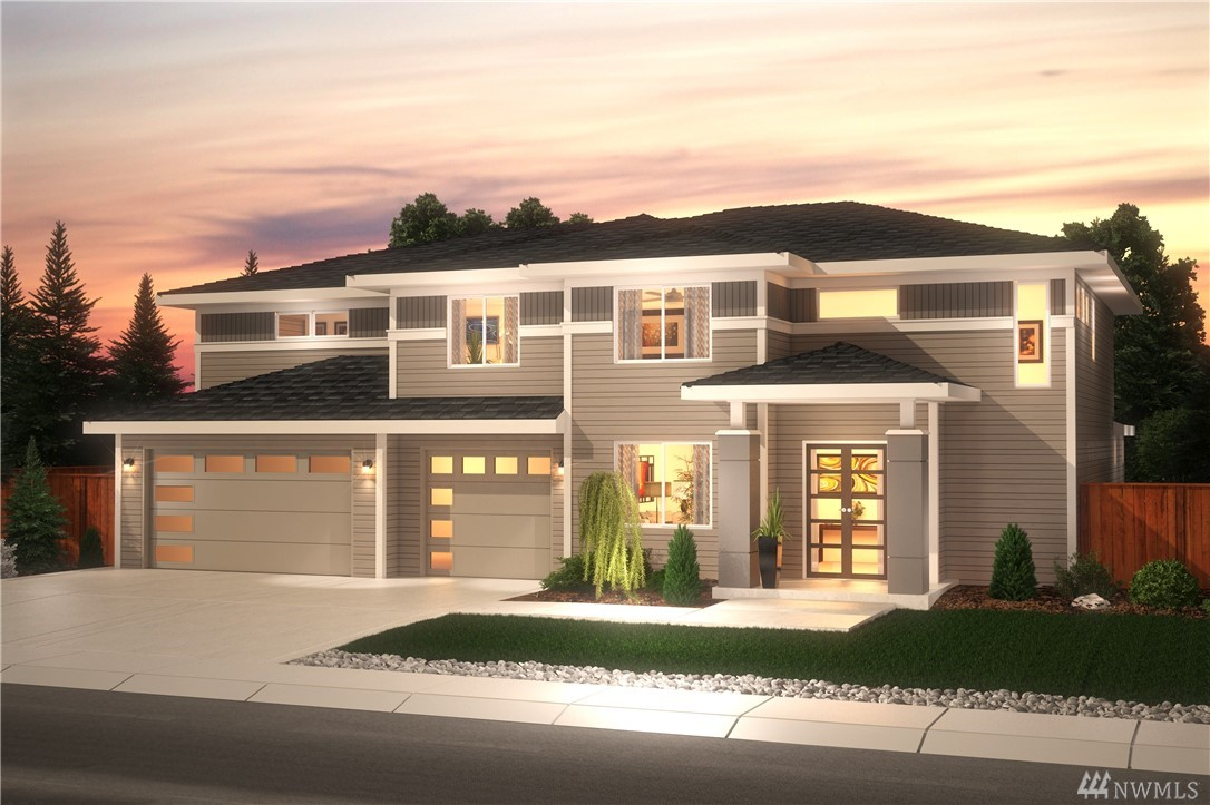 NW Contemporary Style Coronado in Elk Run. Walk into a beautiful grand DBL door entrance that opens up to a LG foyer w/ office. Continue into an open concept Great Rm/kitchen w/ a LG covered patio perfect for entertaining! Gourmet kitchen w/ SS appliances, pot filler, LG island & more. Luxurious Master Suite w/ vaulted ceilings, freestanding tub, oversized WIC & more. Upstairs includes 3 additional bdrms, LG Bonus Rm & Utility Rm . Room to park all your cars & more in the 5 car garage!