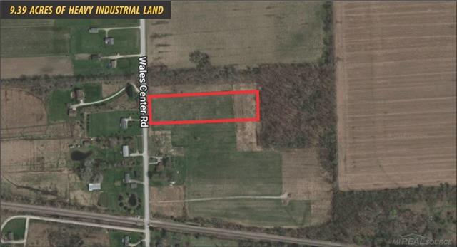 Zoned Heavy Industrial Rail Spur Possible Less Than One Mile From I-69 Many great uses including Store Unit Facility, Scrap Yard and Contractor Yard Land Contract Terms Available Well and Septic to be installed by Purchaser after closing.