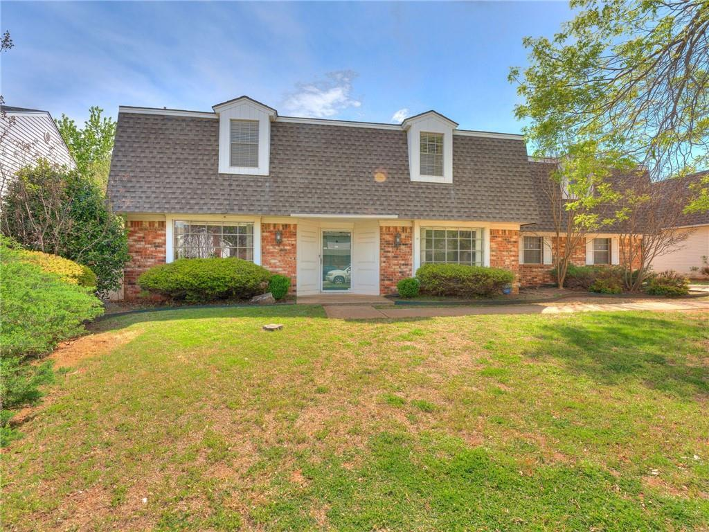 This is your opportunity to make one of the metro's premier neighborhoods your home.  Fantastic location - ONE MINUTE from Lake Hefner Parkway with easy access to I-44 and Kilpatrick Turnpike.  Short drive to Mercy Hospital Complex and Baptist Hospital Complex.  Only minutes from Lake Hefner, Quail Springs area shopping/dining, Martin Nature Park, and so many other attractions nearby.  The kitchen was completely updated this year.  Downstairs are the living area, study, 2nd living/dining area, 1/2 bath, and completely updated kitchen w/breakfast nook and pantry. Upstairs you will find 4 bedrooms and 2 full baths.  The master suite is roomy and the bath has been partially updated.  The 4th bedroom is very large and could also be a game room, media room, office, or living area.  This house offers lots of flexibility with large rooms and plenty of storage.  Plenty of room in the back yard for cookouts, games, and gardening. There is a rear-entry garage and extra parking.