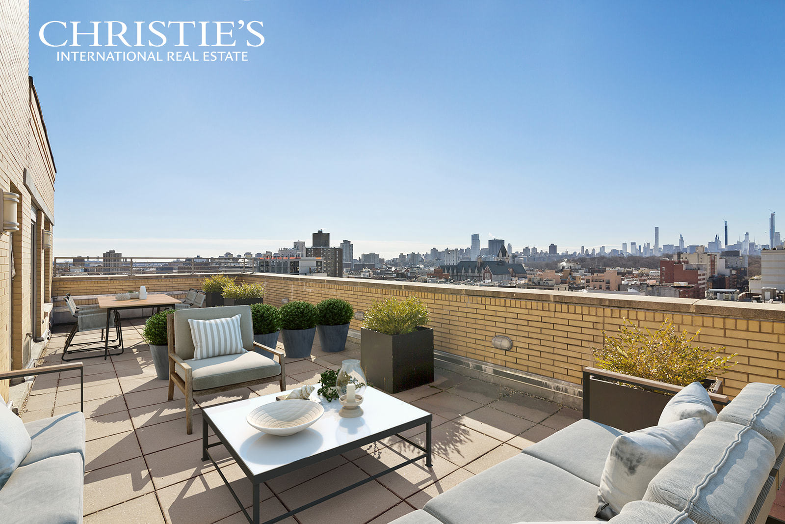 "Re-Introducing the sponsor sale of this fabulous SoHa 118 Penthouse Duplex apartment, distinguished by an incredible 3,456 square feet of luxuriously-appointed living space with multiple exposures, plus 753 square feet of outdoor space offering sweeping views in all directions overlooking Central Park, Downtown Manhattan and Columbia University.   This unique and extraordinary penthouse is divine for living and entertaining. Its expansive quarters feature 4 bedrooms, 4 full bathroom, 2 half bathrooms, and an open flowing layout graced by Brazilian cherry hardwood floors. The dramatic 36'-wide open-concept great room is a perfect setting for hosting grand or casual gatherings. Open to both the living and dining room is a sleek custom, modern chef's kitchen adorned with Silestone countertops, premium Wolf, Sub-Zero and Miele stainless steel appliances, and a center dining island which can accommodate 4 stools.   The airy upper level of this very special penthouse presents a quiet den with a fireplace, wet bar, and terrace with Central Park and downtown views, as well as an elegant master bedroom with 2 en-suite bathrooms, and its own terrace facing Columbia University and Morningside Park. Each additional bedroom also features its own lovely private outdoor space.   SoHa 118 luxury condominium, known as ""The Face of South Harlem,"" offers residents attentive 24-hour doorman service, a live-in superintendent, fitness room, media room, children's playroom, laundry facility, cold storage for groceries and tranquil common courtyard. On the building's ground floor level is a Starbucks and Chase Bank for your daily convenience. SoHa 118 is Harlem's ultimate living destination, attractively located near numerous modes of transportation, Morningside and Central Parks.   This unit has never been occupied and is a sponsor sale. The complete offering terms are in an offering plan available from sponsor. File no. CD 06-0578. Sponsor: 10 Equities LLC, 37 West 65th Street, New York, NY 10023 ."
