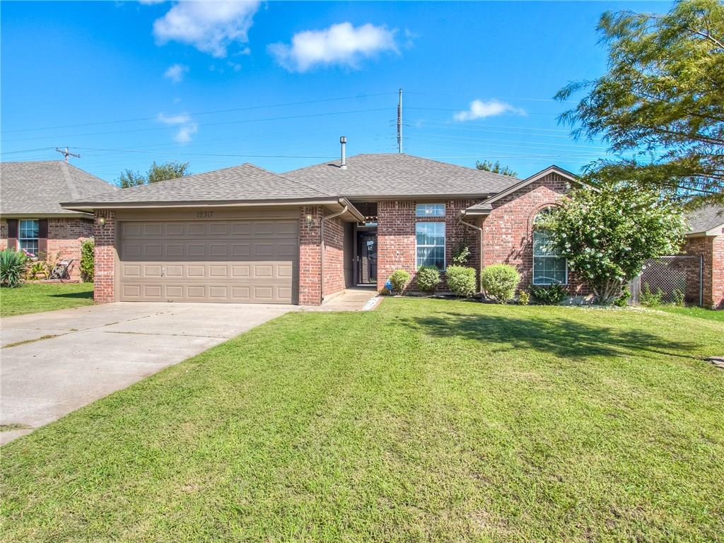 Come check out this freshly updated home in the Yukon School District. It boasts a newly remodeled kitchen and has beautiful wood floors throughout.  Conveniently located a mile from I-40, with easy access to local shopping and dining in Yukon.  This one won't last long!