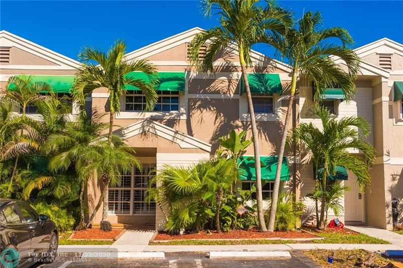 Fantastic, well maintained unit in heart of desirable Cooper City very close to outstanding elementary, middle, and high schools. Three (3) bedrooms with two (2) full bathrooms and one (1) half bathroom. One (1) bedroom and half bath is located on the first floor. The two (2) bedrooms upstairs each have on-suite full bathrooms. Kitchen has been well maintained with all appliances in great condition. Screened in patio is great for entertaining and remains cool and shaded even in the summer months. Community pool is close by and well maintained so no need to drive anywhere.  Motivated seller, Priced to sell IMMEDIATELY!!!!