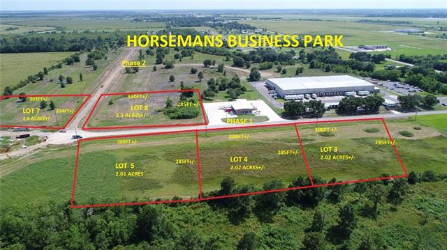 Lots are $115,000/acre. May be restructured for sale.