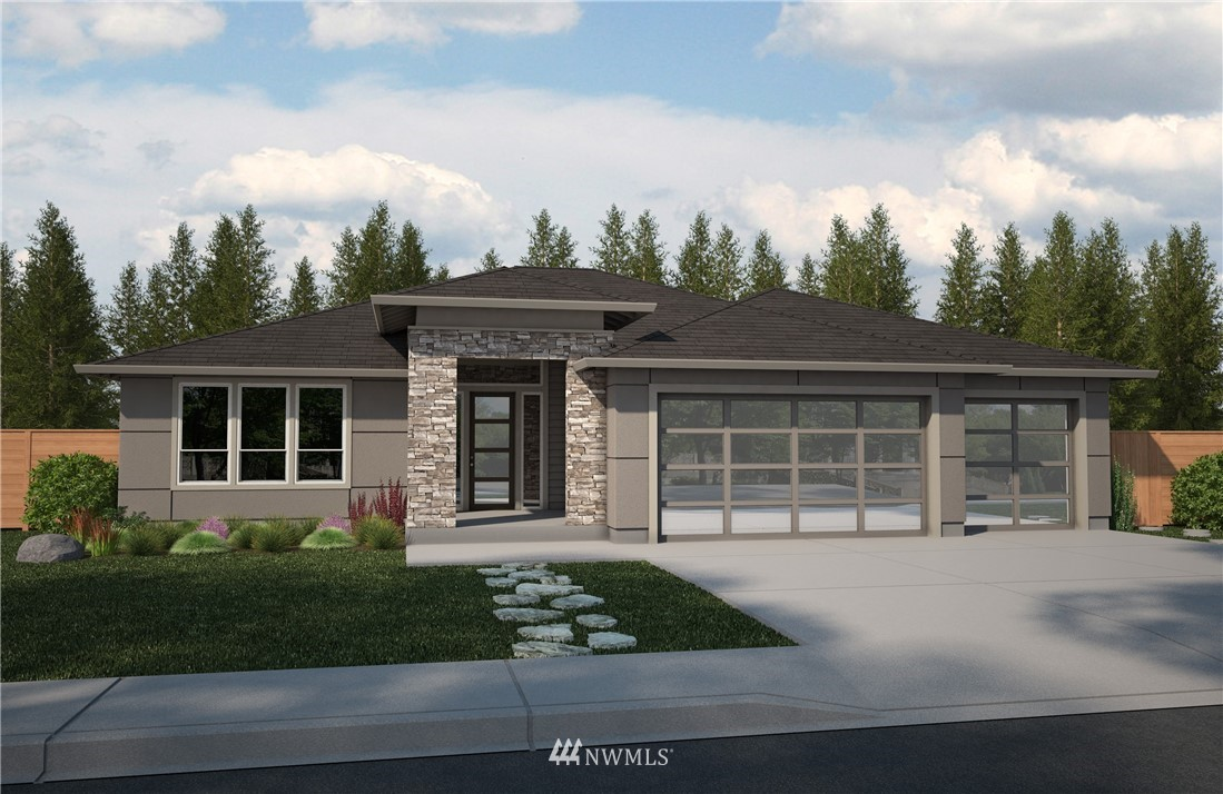 Size does matter! This gorgeous Northwest modern home comes w/ all the fancy bells & whistles wrapped up in an unbelievable 2740sqft rambler! 13' ceiling rotunda, elegant Mini & Master suite w/ walk in closet, family that opens up to covered outdoor space w/ 2sided fireplace & bbq gas stub, luxury appliances to compliment the gourmet kitchen w/ oversized island, CAT 6 wiring, heat pump, pre wired for holiday lights- lot size of .34, situated conveniently across Chapman Trail, and No HOA!
