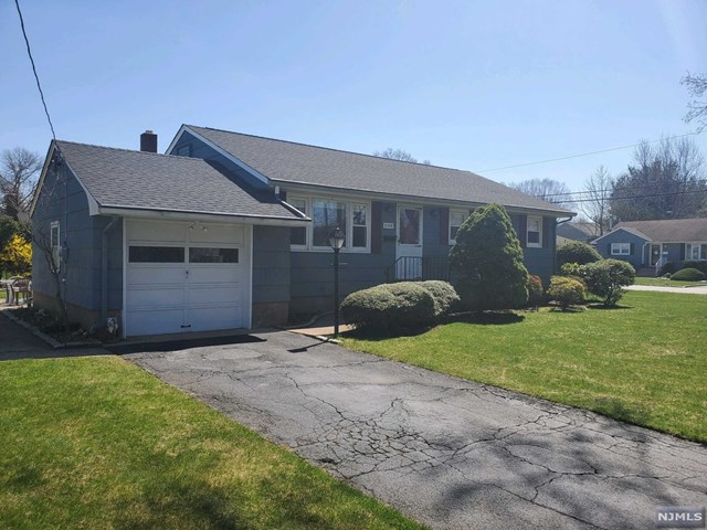 Oradell Gem! This 3BR-1 Bath Ranch sits on 100x100 corner lot! Home features 3 BRs-1 Bath,Living Room,Dining Room,New Roof,Hardwood Floors throughout, new electrical upgrade,Central Air. Outside features large patio surrounded by a beautiful yard, attached garage. Top Rated Oradell School System!!