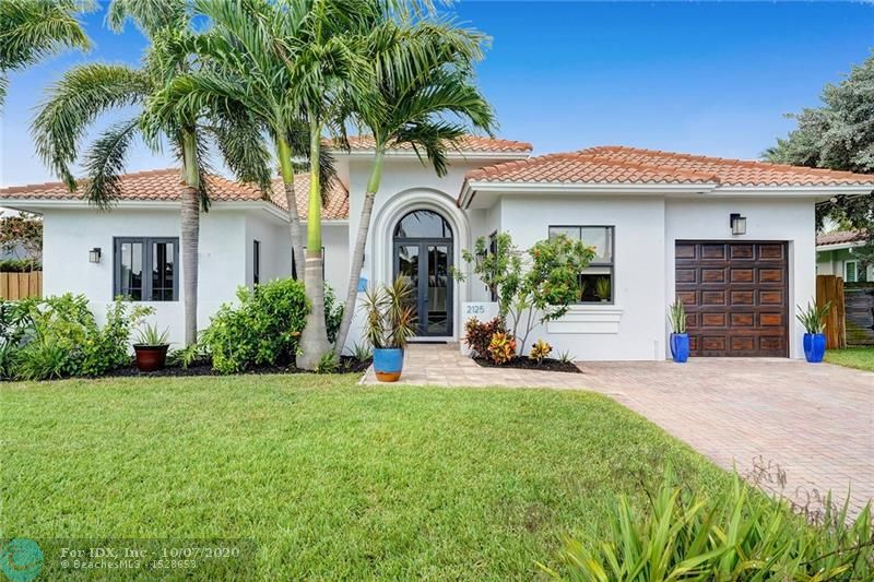 "EXQUISITE CONTEMPORARY OCEAN ACCESS POOL HOME IN DESIRABLE EAST WILTON MANORS; BUILT IN 2009.    STUNNING FRONT DOOR ENTRY W/ PALLADIUM ARCHED WINDOW & 9 FT DOOR WHICH COMPLIMENTS THE DRAMATIC FOYER.  FORMAL DINING ROOM OPENS TO LIVING ROOM & OVER LOOKS POOL & WATER.  8"" CROWN MOLDINGS, WIDE BASE BOARDS & 9.5 FT CEILINGS W/  24' MARBLE FLOORS LAID AT A DIAGONAL IN MAIN AREA.   EUROPEAN KITCHEN W/ ESPRESSO TONED  CABINETS W/BRUSHED STEEL PULLS, DECORATIVE TILE BACK SPLASH, QUARTZ COUNTER TOPS, STAINLESS STEEL APPL INCLUDES WINE COOLER, &  BREAKFAST NOOK.  GENEROUS 17X17 MASTER BEDROOM W/ LG WALK IN CLOSET & DOUBLE FRENCH DOORS W/ WATER VIEW.  HIGH END BATH ROOM RENOVATIONS. 4TH BEDROOM PERFECT HOME OFFICE.  DOCK & SEAWALL 2009, BOAT LIFT INCLUDED. AC  2019. ALL IMPACT GLASS.  1 CAR GARAGE"