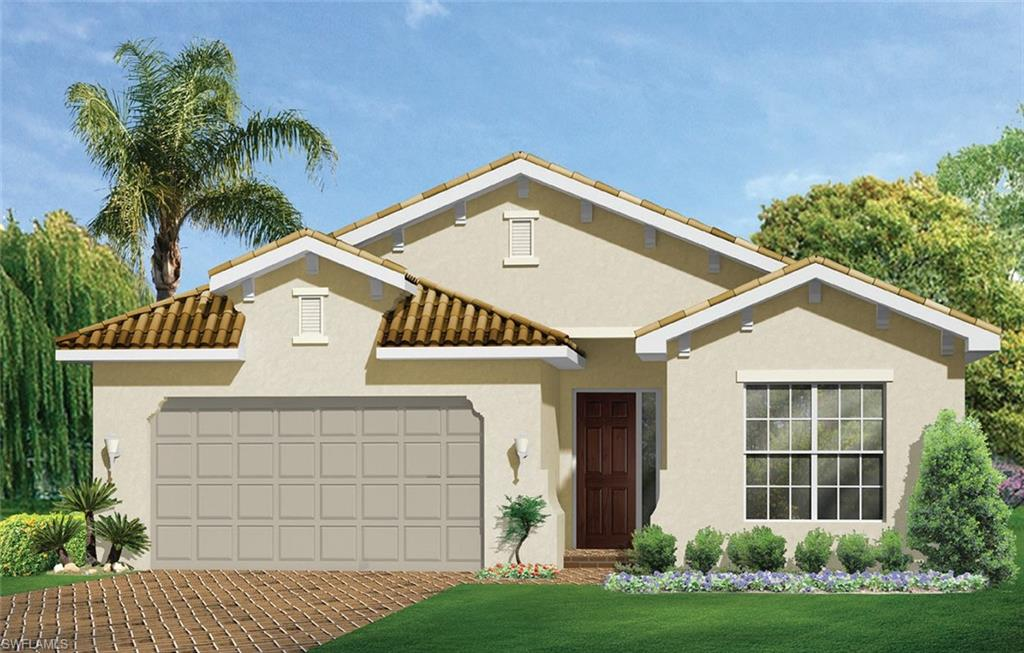 """The Barrymore plan features 3 bedrooms, plus den, 3 full baths and a ½ pool bath.  Enter this home through a gracious double foyer with tray ceilings, large open concept family room, oversize primary bath suite with a large walk in shower, soaking tub and double sink with beautiful granite countertops. The kitchen features a large granite island. 42"""" kitchen cabinets are light in color and are enhanced with crown molding, and under cabinet lighting.  The home includes  stainless steel kitchen appliances; side by side refrigerator with water and ice in the door and washer/dryer.  Beautiful light 18"""" floor tile in all the living areas and luxury carpet in the bedrooms is perfect for Florida living.  The tandem garage is 33' deep to allow for extra storage or your work/craft area!  Venetian Pointe is situated in the perfect central location; close to SW Florida Regional Airport, shopping, medical facilities, Lakes Park, and of course our beautiful beaches!  All Venetian Point residents enjoy the amenities; large heated pool, Cabana area and fitness center."""