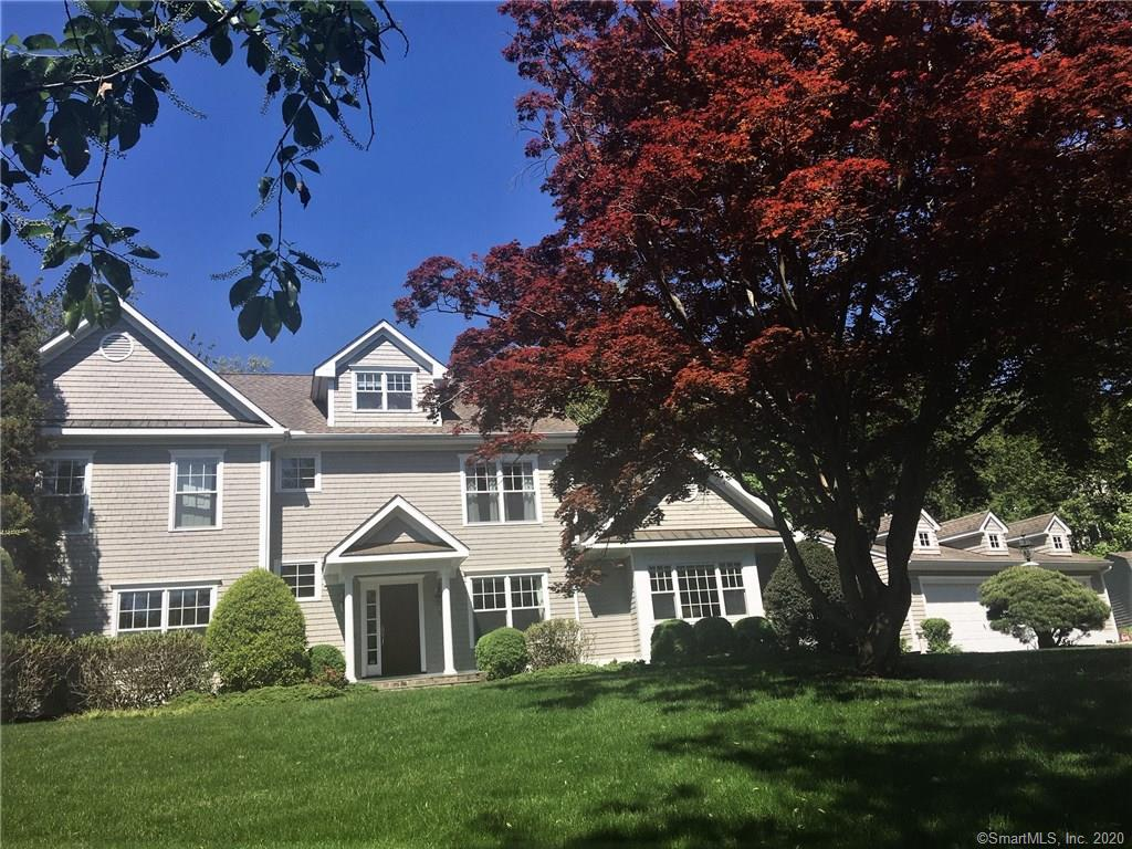 Fabulous Nantucket Style home 1 mile to Compo Beach! 1st or 2nd floor Master, 9ft Ceilings, Eat in kitchen w/Granite counter tops, Center Island & French doors to patio. Large private backyard w/room for a pool. Great room with FLR to CEIL stone fireplace. Each Bdrm has full bath. 2nd flr MSTR w/loft & FR doors to private deck. LL perfect for playroom or possible home theatre. Minutes to train, town & beach! Private Road. See Exclusions.
