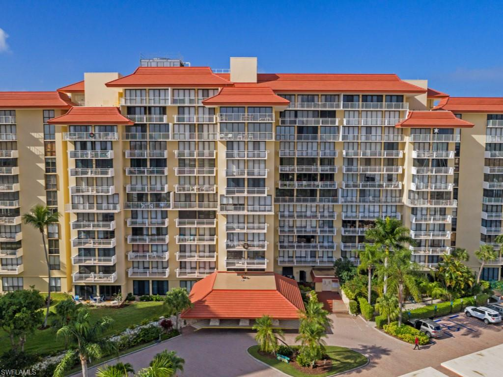 This rarely available 2 bed 2 bath corner unit on the 8th floor provides expansive views of the Gulf of Mexico, Marco Beach and Tigertail. The condo has brand new WinDoor impact glass sliders and windows throughout and is well maintained, clean and ready for immediate personal use or monthly rentals. Enjoy amenities such as; heated pool, community room, bike storage, covered parking with storage, laundry room on every floor, library, secure lobby with full-time office manager on staff. Walking distance to restaurant favorites such as Doreen's Cup of Joe and Joey's Pizza. The Tradewinds community plans social activities for owners and renters like bingo, card nights, happy hours and pot luck event on holidays. Come live the beachfront lifestyle at the Tradewinds in Marco Island, Florida.