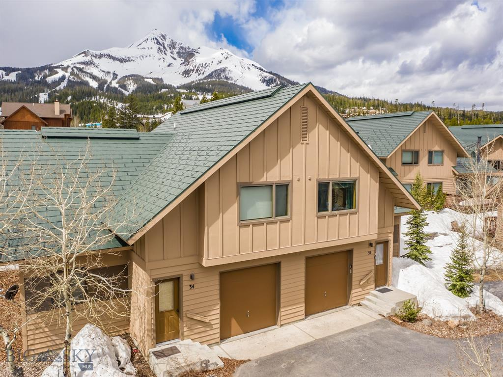 Great ski access as the Bare Back Poma loading area is 60 yards from the front door. Just walk across the street and jump on. This unit also has a very nice location within the Big Horn complex. It is not completely blocked by other Big Horn units. Nice views of Lone Peak and has two community parking spots next to the unit. The Mountain Mall is an easy 5 minute walk. This unit is in good shape and being sold furnished, and turn key ready to rent.