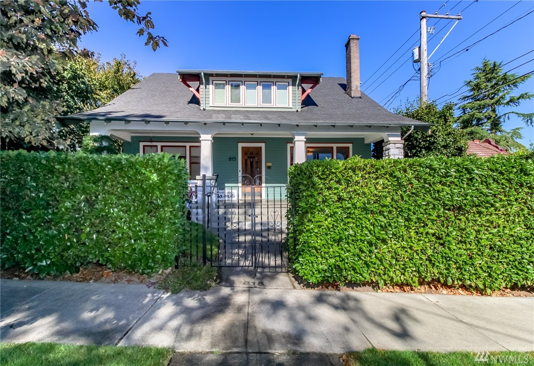 EXCELLENT LOCATION in the vibrant Stadium/North slope area this STUNNING CRAFTSMAN is a blend of original charm & modern conveniences w/updated major systems. Amazing ORIGINAL WOODWORK, gleaming hrdwd flrs & a MODERN KITCHEN for the cook.   Main flr OFFICE & LG FAMILY RM w/natural light for the new stay hm lifestyle. MASTER STE w/priv bath+  3 lg bedrms all w/walk in closets. FINISHED BSMT for playrm or classrm? Private setting. 2 blks 2 new light rail. Walk to park, pubs, restaurants.No sign.