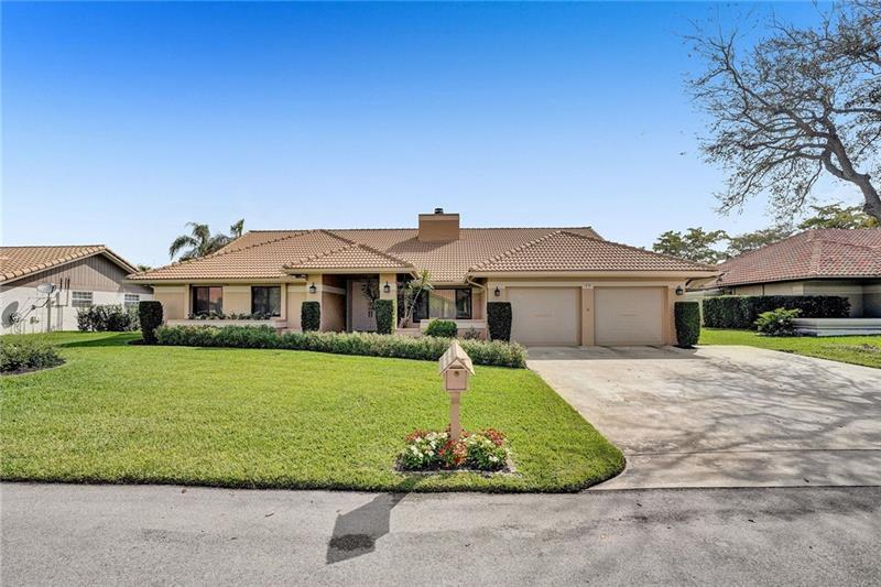 Best opportunity to live within the gates of Lago Mar Country Club! Lovingly maintained by the original owner, this  4/2.5 home is ready to move in to! Nestled on a quiet cul-de-sac, the home features: brand new kitchen, gorgeously remodeled oversized master bath, 2019 HVAC, 2008 barrel tile roof, 2-car garage & more! Enjoy your large screened patio overlooking your pool & spa. Minutes to major highways and FLL airport, this special community offers 24/7 manned gate security and a prestigious country club with golf, tennis and fine dining. Serene and secure, Lago Mar is Broward's best kept secret!