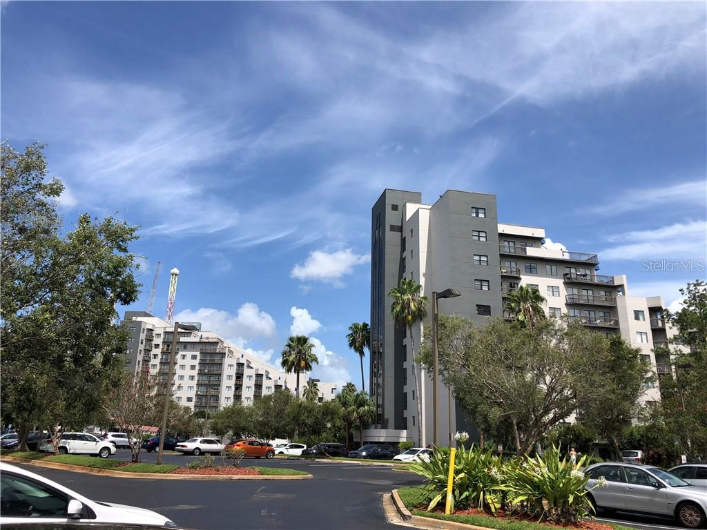 NEW LOWER PRICE! Wonderful opportunity to own a condo-hotel/ Airbnb in the best location in Orlando. This unit is light and bright with a spacious open feel. Beautiful view from the 5th floor facing the lake. It is located walking distance to Universal Studios. This unit has been completely renovated and furnished , making the unit the perfect money maker; as well as a vacation home. Owners may rent this unit on their own (Airbnb allowed) or use the onsite rental company. This unit is truly turn key. This location includes access to Universal Orlando, Premium Outlets, Sea World International Drive, Millenia Mall and restaurants. Call to schedule a showing today!