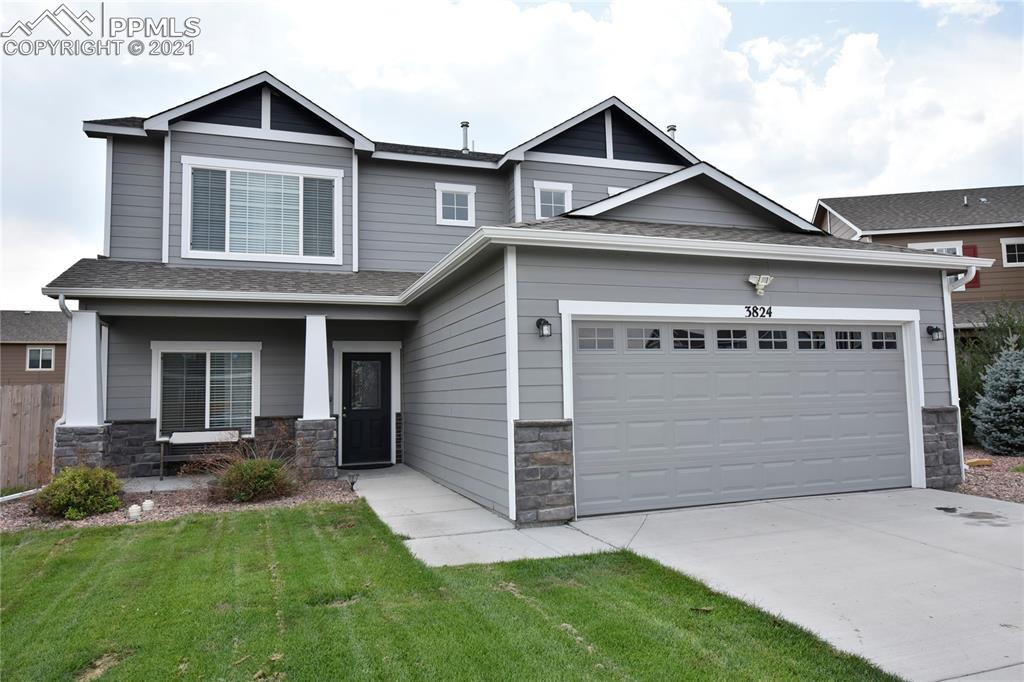 Lovely, Move-in ready 2-story home in Cuchares Ranch.  Four Bedrooms + Loft and 2.5 bathrooms, with attached 2-car garage.  1908 Square Feet Finished featuring brand new carpet on the upper level and brand new wood laminate flooring on the main level.  This home is located in the popular community of Cuchares Ranch. Neighborhood is quiet and feels like the country yet it is convenient to shopping, restaurants and military bases.  Very open floor plan with neutral decor throughout. The main level features a Great Room that opens up to the Dining Room and spacious kitchen. The Kitchen features gorgeous white cabinets, a walk in pantry and lovely counters/back splash. The kitchen also walks out to a spacious 12X12 concrete patio for bbq's or just entertaining outdoors.  There is a main level powder room and bedroom (currently being used as office). Upstairs features 3 spacious bedrooms and a loft. The Master bedroom includes a 5-pc bath with double vanity. Home features Central Air, NEST Thermostat, Nest Smoke Detectors and Video Doorbell.  It also features Structured Media Pane, Cat6 ports in all room and TV Height wall outlets.  new, gorgeous lighting. Come see this lovely home!