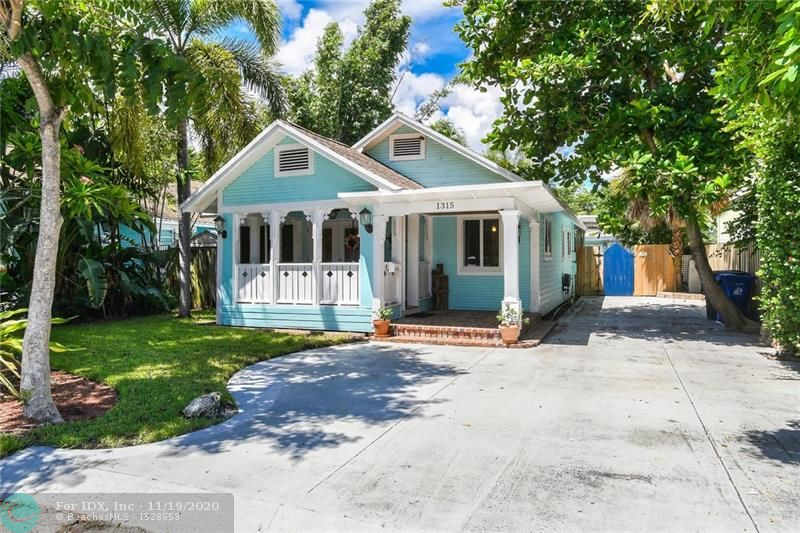 Don't miss this charming craftsman home centrally located in the Middle River Terrace neighborhood. Located on a quiet dead end street, this completely renovated property features a 3 bedroom, 2 bathroom home with a detached 1 bedroom, 1 bathroom Mother In Law suite and a private pool. This fully upgraded home features bamboo wood flooring, wood tile in both bathrooms, large master bedroom and a stunning kitchen with white shaker style cabinets, granite countertops, under cabinet lighting and Samsung stainless steel appliances. Additional upgrades include new sprinkler system, new large capacity washer and dryer, impact windows, new A/C and a new water heater.
