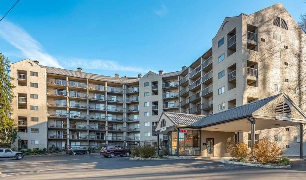 What a LOCATION! In the heart of Gatlinburg, with walking distance to Ripley's Aquarium, Anakeesta, mini-golf, shopping and all the local restaurants. Leave your car at the property and scroll down the streets at your leisure. Condo offers mini kitchen, cozy fireplace, and spacious balcony with the views. Unit comes fully furnished, and is ideal for your new vacation home, Investment Property (STR) or both! Offered at excellent price!