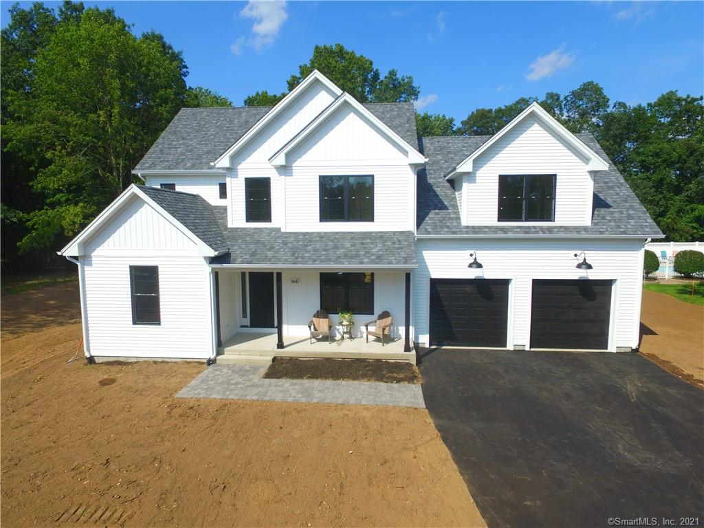 """Brand new construction """"Modern Farmhouse"""" - Country eat in kitchen with large center island open to family room with stone propane fireplace- 8 foot french door to brick patio- first floor office- hardwood throughout the entire home- will be stained next week """"Provincial"""" extremely functional mudroom with bench and hooks- large walk in pantry with glass pocket door- master suite with tray ceiling and custom built in walk in closet- master bathroom with tile shower and soaking tub- second floor laundry room-Black exterior windows, Board and Batten accents on front peaks-could close in 2 weeks- any questions call listing agent who is also the builder-  Refinishing hardwood flooring this week- showings will start back up on Sunday 8-22 so flooring can dry"""