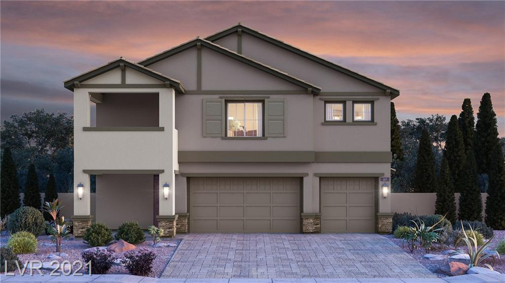 """New Home in Las Vegas with a private suite! This home includes our """"Everything's Included"""" features such as stainless steel kitchen appliances, 2"""" faux wood blinds, Home Automation, USB outlets at kitchen & master, and much more!"""