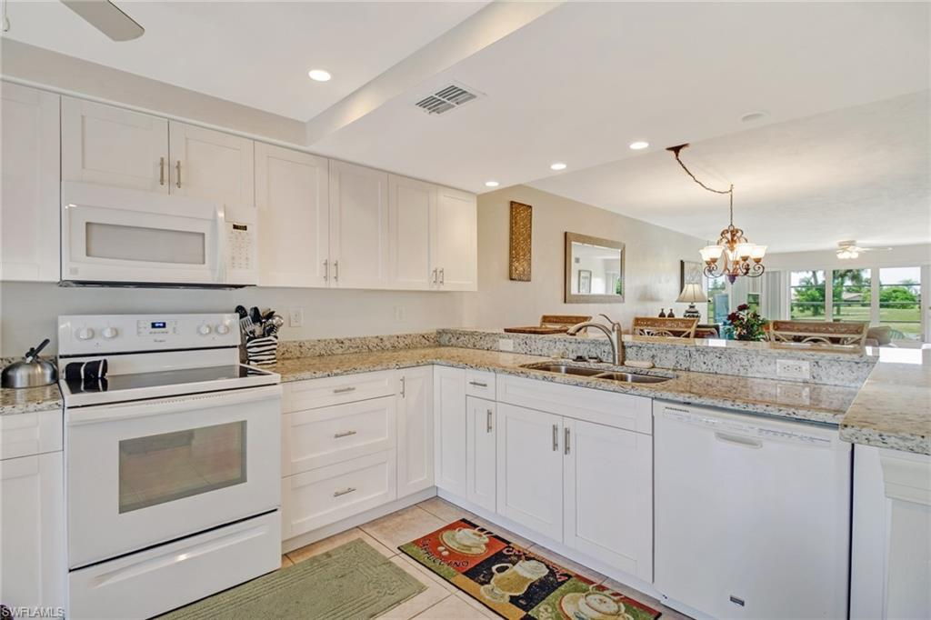 Available for Short Term Rent- Off Season 2020 @ $1,300/month, and Season 2021 @ $6,000/month! Located in the Winterpark community of Naples- ONLY a few minutes to Downtown Naples, and Beaches! This beautiful first floor unit has the largest kitchen in the community, and tile floors throughout. With plenty of space for entertaining, and a great view of the neighboring golf course- this is the place you'll want to stay! This condo building is the closest to the community pool and tennis courts.