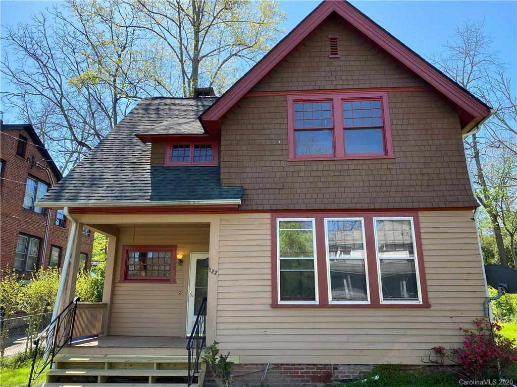AVAILABLE NOW FOR RENT! Charming Arts and Crafts home in the heart of Historic Montford, walking distance to downtown, schools, parks and shopping! Home features three bedrooms, 1.5 baths, many of the original wood doors, hardware, woodwork, fireplace mantels, moldings and an amazing wooden staircase at the entry that has back stairway to the kitchen. Very Unique! Washer/Dryer included. Tenant responsible for all utilities.  Pets okay with deposit. 1st Month rent and Deposit required for move in.