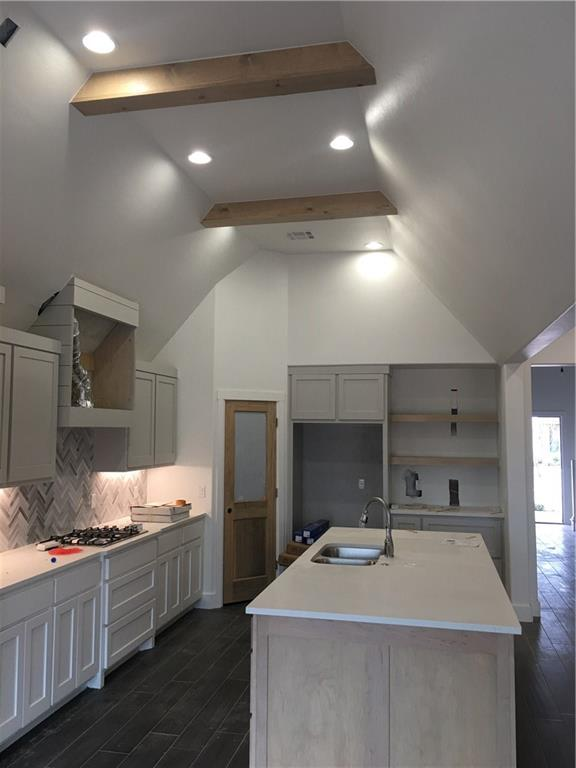 You'll love the features in this 4 Bed, 3 Bath, Bonus Room with 2 Bedrooms  and Full Bath up.  Optional Study or 4th Bed with Full Bath Down. Kitchen has Beamed Ceiling opens to Living Area.  8 Ft. Breakfast Bar Center Island, Walk in Pantry, Built in Oven, Gas Cook Top. Tile Wood Floors in Kitchen, Living, Dining and Entry.  Your Master Suite with a deep Soaker Tub AAHH! Closet conveniently connects to Utility Room and Mud Bench with 4 Lockers. 17 X 10 Covered Patio with Gas Fireplace.   Under Construction Buyer selections still available. Community Pool, Shaded Play Area and Duck Pond. New Edmond Elementary and Middle School less than a Mile. Covell Rd conveniently takes you to I-35 or Hefner Parkway. Enjoy Edmond Parks, Entertaining and Shopping.