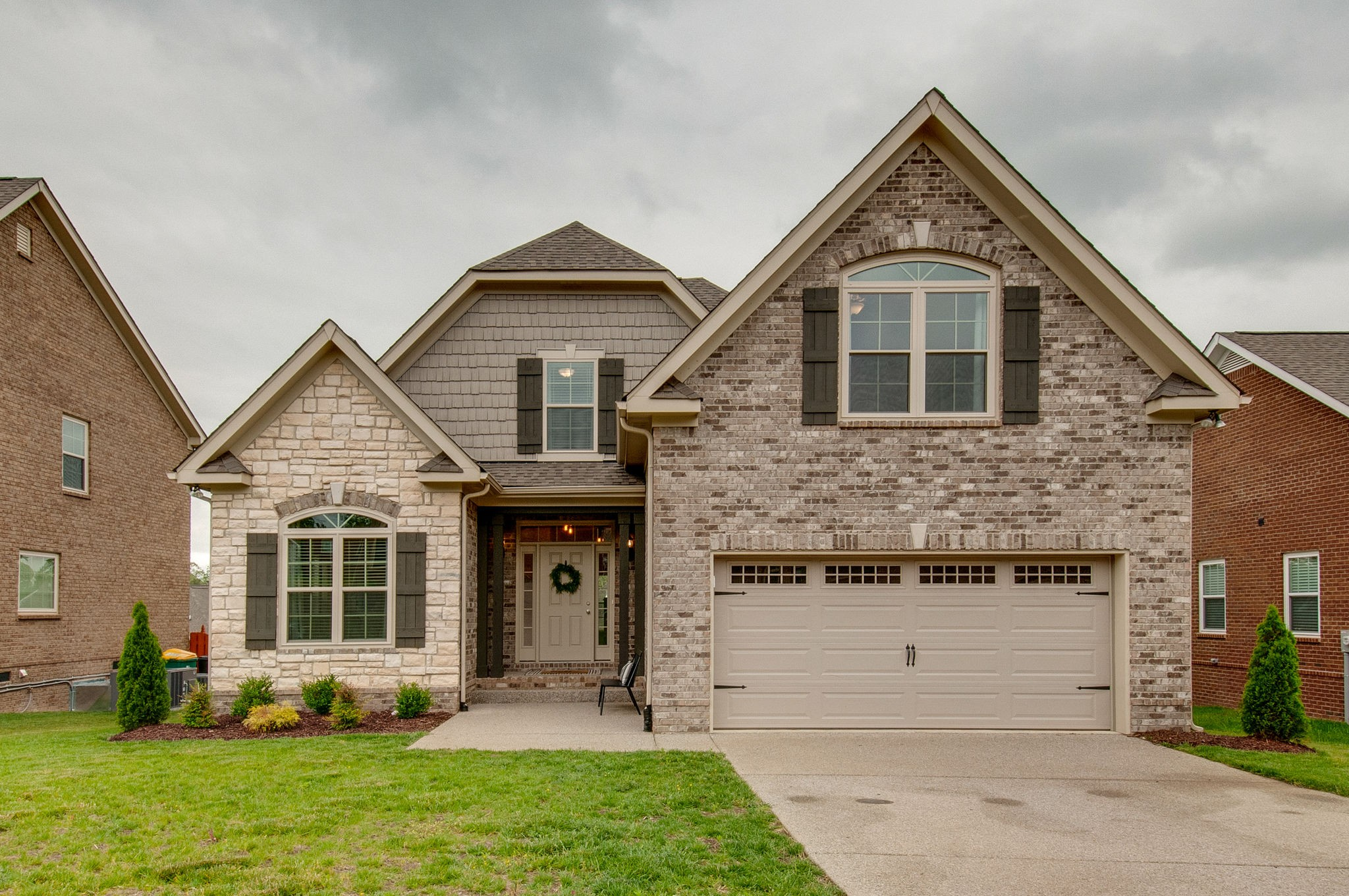Enjoy this beautiful almost new home in Wades Grove without waiting for the build time! One of the largest lots in Wades Grove, fully sodded yard and fully fenced back yard. Harwood floors throughout most of the first floor. Upgraded light fixtures throughout. Kitchen with stainless steel appliances and granite counter tops. Tons of walk-in Finished Storage throughout the home.