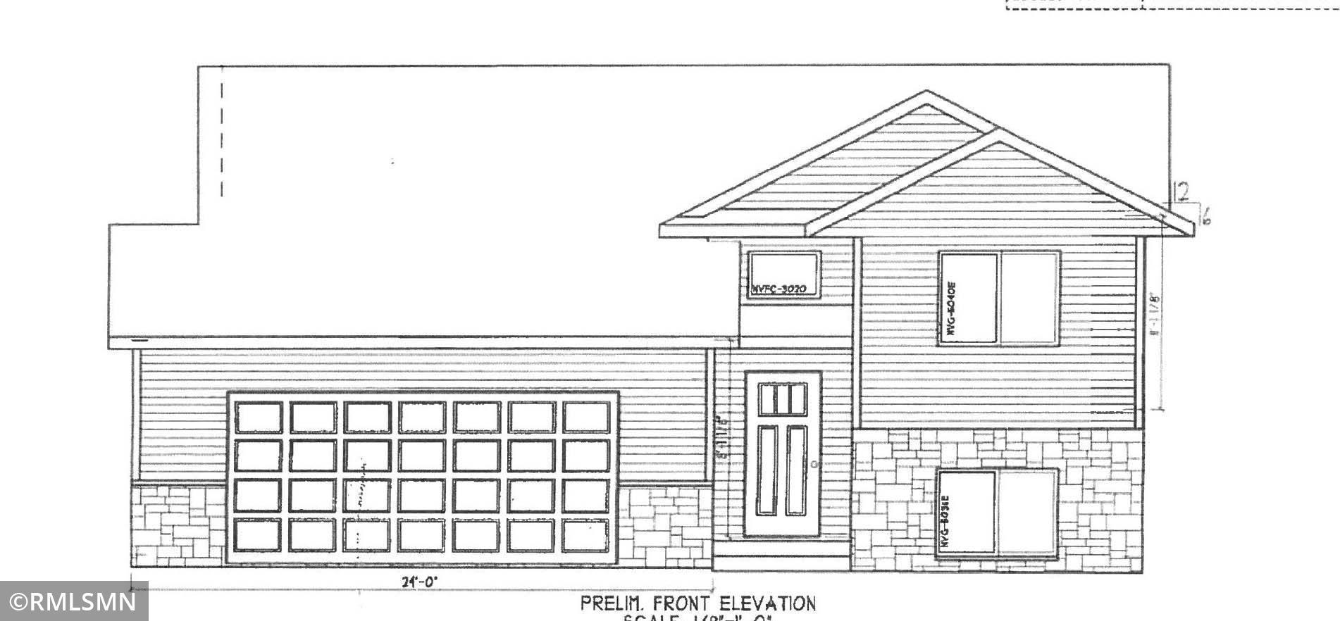 To be built Spring 2021! Attractive split level with 1170 square feet on a large city lot! Hardwood floors, tiled floors, granite countertops, raised panel custom cabinets, central air & steel siding!