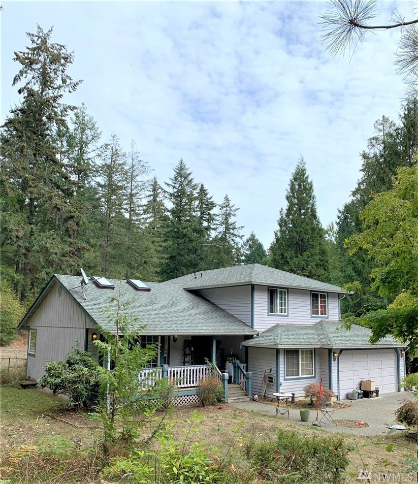 Come and view this amazing secluded 4 bed 2 and three quarter bathroom home nestled on 2.5 secluded acres of property. Huge shop and RV parking. Just minutes from JBLM/Roy/Yelm.