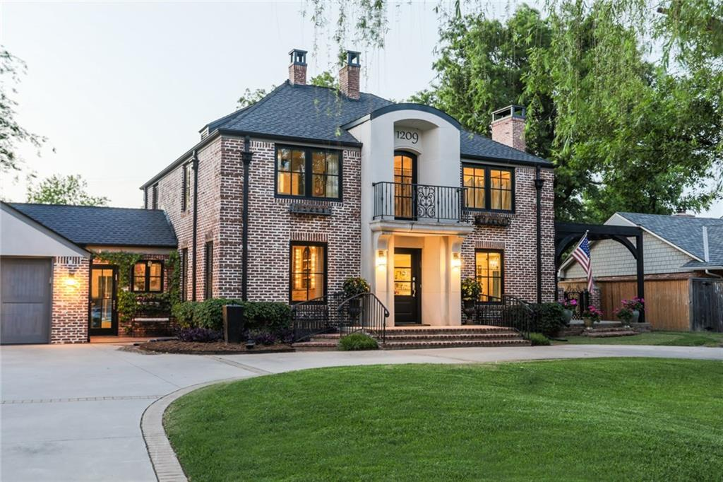 Stunning European inspired estate on .62 acres just steps away from Nichols Hills Davis Park. No detail was overlooked in this beautiful home that has kept its historic charm while adding many modern conveniences.The Newly remodeled kitchen with gorgeous finishes and a fantastic view of the pristine backyard is a dream. A spacious master suite with updated bath and large walk-in closet, office and balcony is the perfect spot to unwind at the end of the day. You'll love the finished basement that boasts a game room, bedroom, bath, and additional flex space. The ground floor features beautiful guest quarters that could be used for multi-generational living. The spacious backyard is ideal for entertaining...enjoy coffee on the charming patio, swim in the newly updated pool, or play a game of paddle tennis on the lighted court. Just moments away from the best dining and shopping the city has to offer, you will love this stately, yet welcoming home. HIGHLY MOTIVATED