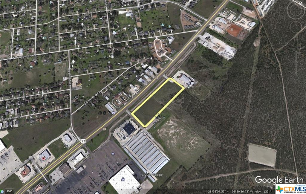 Approximately 5.76 acres located on North Navarro Street adjacent to TSC and across Navarro from Cavenders.
