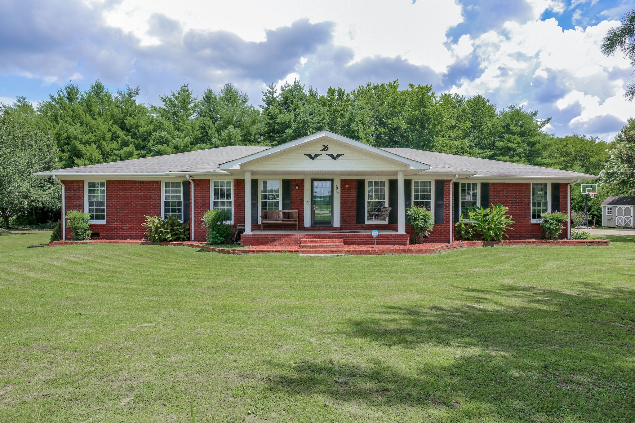 Can you imagine a one level home with a mother-in-law suite on a 1 acre lot? Yes mom can move in too!