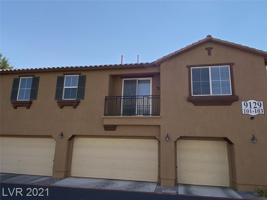 Centennial Hills area.  Town home with 2 bedrooms and a 1 car garage. Close to the 95 and 215.  Shopping, hospital, and restaurants close by. Community pool and no yard make for easy maintenance.  Large master bedroom with walk in closet.  Neutral paint and appliances included.  Stop renting and living by the landlords rules.  Invest in your future, and grab this one before its gone.