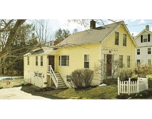 This charming Village Colonial is situated on Pleasant Street near the heart of the Paxton Village Center. The six rooms are filled with light through divided lite windows. The floorplan offers flexibility with a first level bedroom room, dining room, a country style eat-in kitchen, full bath and a family room with FP on the first level. There are two additional bedrooms upstairs. Mechanicals have been updated and the interior is well appointed and exudes simple country charm. A fenced yard features many garden details, lawn and bounded at the rear by mature forest. The walkout basement offers good storage, and there is a chicken coop for your feathered friends. FIRST SHOWINGS AT OPEN HOUSE SATURDAY APRIL17 1:30 TO 3;30 pm.