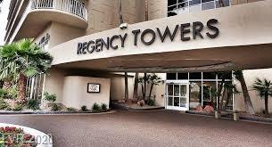 Unbelievable opportunity to own a unit at Regency Towers at the Las Vegas Country Club.  Completely updated unit with fabulous kitchen in a unit where every space is maximized.  Bathroom is modern and spacious.  You cannot miss this rare opportunity to own a unit like this in this building!  Triple guard gated community.