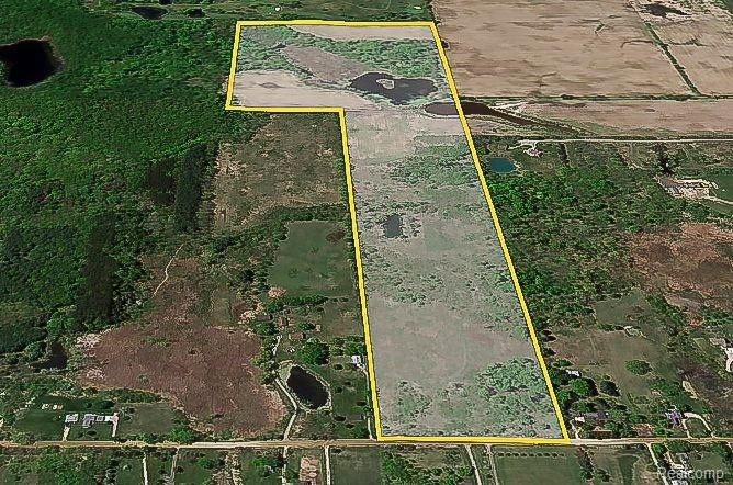 """Own a piece of the well know """"Sutherland Farm"""" with this spacious 80 acre parcel located at Pratt and Diehl Rd in beautiful Hadley Twp. This property has multiple ponds and splits available. Land currently has a crop lease through January 31, 2022. Historical """"Sap House"""" and all of its contents are excluded from the sale, the structure will be removed from the property prior to closing. Survey is in documents. BATVAI* All information is deemed reliable but not guaranteed."""