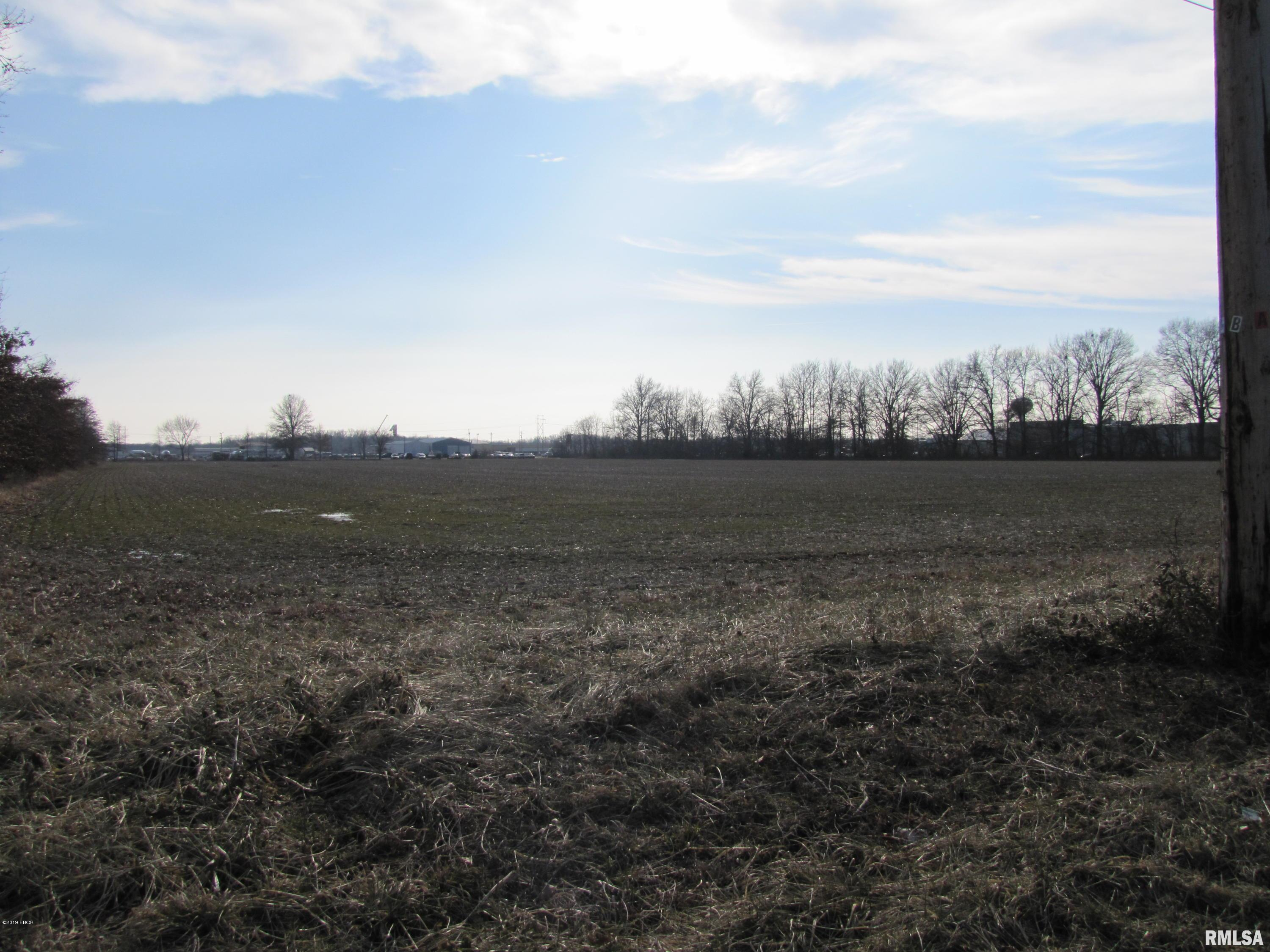 This property is waiting for development! This 11.75 acres puts you in the up-and coming west side of town, close to I-57 and Rt. 50 West. All utilities are available at the N. Hotze entrance and from US HWY 50. N. Hotze entrance is located in the I-57 interchange business district.