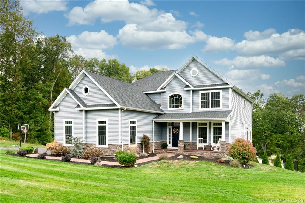 Your Dream Home has Finally Come on the Market in Picturesque Laurelwood Estates - One of the MOST DESIRABLE Neighborhoods in Town! Gorgeous 5 Years Young 4 Bedroom Colonial on 1.86 ac lot checks all your Wants & Needs Boxes! 2 Story Foyer & Rich Hardwood Floors throughout Entire Home!  True Open Layout with White Custom Chef's Kitchen, 6 Burner Gas Cooktop and Commercial Hood, Stainless Appliances including Beverage Fridge, Granite Counters, Tile Backsplash, Island with Breakfast Bar, Huge Dining Area, Large Great Room with Coffered Ceiling Detailing, Stone Fireplace with Wood Stove Insert, Sliders to Enormous Trex Maint Free Deck Overlooking your Backyard Escape! 1st Floor Office, Mudroom w Built Ins & Powder Room, Upstairs 4 Very Generous Bedrooms most w Walk In Closets, Laundry Rm w Sink, Master Bedroom Ensuite w Two Large Walk In Closets and Access to Floored Walk In Attic for more Storage or Expansion Possibilities, Master Bath with Huge Walk in Glassed Tiled Shower, Double Sinks w Granite Topped Vanity, Main Full Bath w/Tub/Shower, Walkout Unfin LL Fully Finishable overlooks to Amazing Backyard Space with Pavers Patio, Spectacular Inground Salt Water Heated Pool, Firepit Area, Fenced, Shed, Speakers, Sprink & Alarm Sys, 3 Car Gar, Ideal location Steps from Mt. Southington Ski Mtn, & Minutes to Highways, Shopping, Restaurants, Walking/Biking Trails, yet in Private Upscale Neighborhood Surrounded by Similar Homes/Lots & OUTSTANDING VIEWS!!! Better than New Construction!
