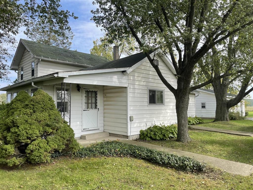 Tucked away on a quiet road in SE Hillsdale County, this homestead sits in an area with some of the most desired tillable acreage in our area.  40 acres of historically productive mostly tillable land, and a home that was loved for many years.  The home has a main floor bedroom, full bathroom, formal dining room, and enclosed front porch as well as an office area or perfect toy room.  Upstairs is one large bedroom and bonus room as well as a large attic space and landing.  Central A/C, newer well, and 2 car detached garage.