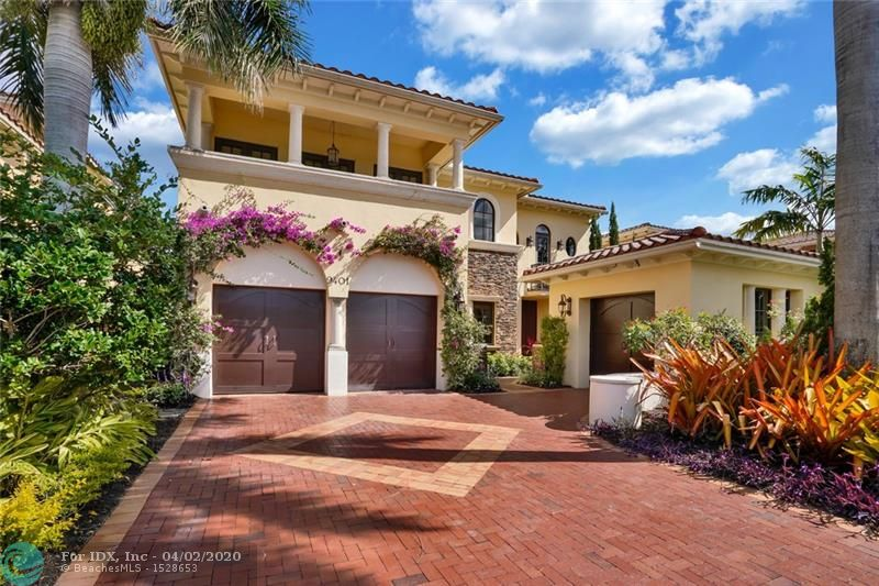 Updated Savona Model on an oversized cul-de-sac lot in highly sought after Parkland Golf & Country Club. Featuring 4 bedrooms + Game Room/Movie Room, 3 full baths, a huge extended driveway, 3 car garage, lush tropical landscaping in the front and back, a huge veranda, newly marble paved pool deck with infinity edge, & an updated pool and spa. This tropical backyard is perfect for entertaining & relaxing with the family. Jerusalem marble floors throughout the living areas, chef's kitchen w/ island, hurricane impact windows and doors throughout. Master bedroom suite features walk in closets w/ built ins, a spa-like marble bathroom w/ separate tub & shower, separate vanities, & a sitting area and covered balcony. Live the country club life without the membership!