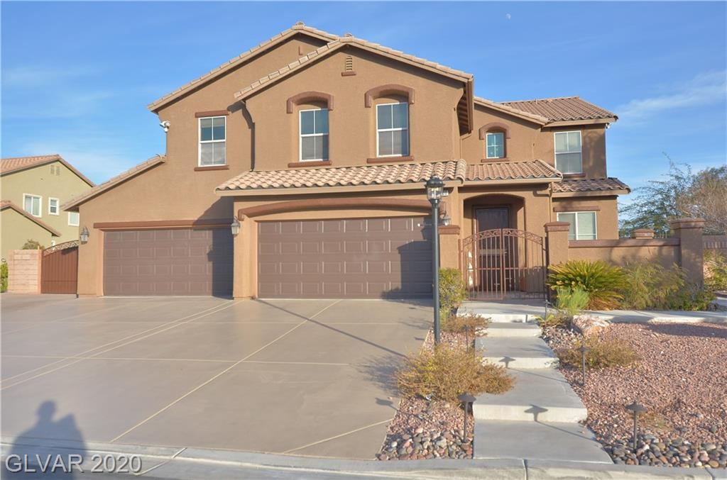 $10k incentive to buyer at list offer.. Huge lot, oversized RV parking on custom pavers, pool & Spa w/stone work, covered patio and yard to spare. Tough shed included! Chef's kitchen with walk-in pantry, wet bar in front room. Guest bedroom and full bathroom downstairs. Bonus loft upstairs. Don't wait, make this your new home for the upcoming summer months! Located on a cul de sac, and all the outdoor amenities await. Owners suite w/balcony!!