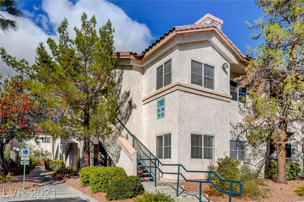 This is a gem - a 2 bedroom (plus den) unit on the second floor adjacent to the pool in Winchester!  This condo has lots of light and views of trees/park from family room, dining area and both bedrooms. Enjoy private outdoor space on the spacious balcony.  It is move in ready -  with new gray carpet, neutral color paint as well as a new bathroom vanity.  Upgraded with crown moulding and tile accents on the floor in kitchen and primary bathroom.  Den can be used as 3rd bedroom or home office.  All appliances included. Separate laundry room. Assigned covered parking spot is just steps away from stairway.  Conveniently located near grocery store, dining, shopping, and the park!