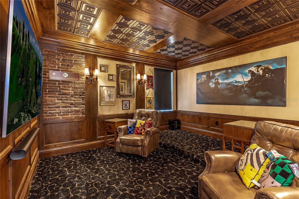Character Alder wood with ceiling panels