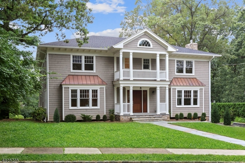 "2019 New Custom colonial just 4 blocks from downtown Summit! Outdoor terraces both covered & open overlook the private 1/2 acre quiet level yard.  Open floor plan includes 33'X18' Gourmet Kitchen. Separate breakfast rm & adjacent great rm has modern qualities for everyday living. Large living & dining rooms provide formal entertaining space. 6/7 Bedrooms offer flexible living needs with a first floor bedroom and full bathroom. The Master Bedroom Suite can be customized to have ""his"" & ""her"" baths & dressing areas. Lower Level Bedroom with full bathroom & separate entrance walk out. 4 Fireplaces (Outdoor Terrace, Great Rm., LR & Master Bedroom) Third Floor multi-use loft. Electric car plug-in and generator hook up are added features for today's discerning buyer. Please note taxes TBD upon completion."