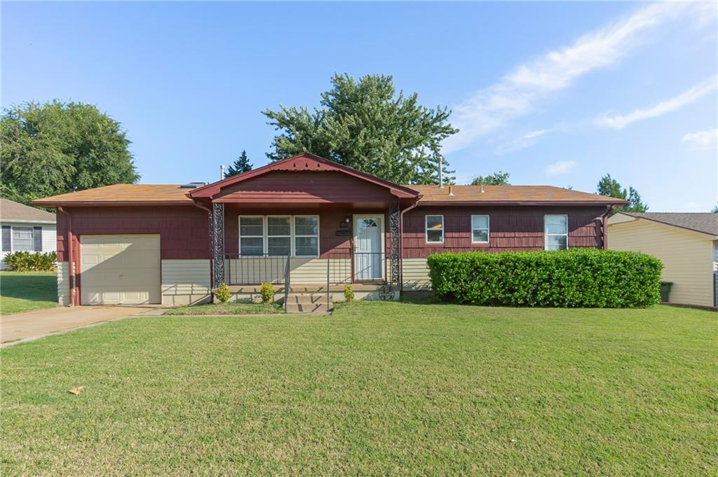This is an GREAT home at a great price point in Yukon . The seller is willing to leave washer, dryer, and refrigerator. This home has a terrific backyard that would be good for entertainment. Don't let another day go by without getting inside this wonderful home .